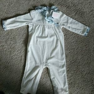 Janie & Jack girls 12-18 months winter romper; NWT